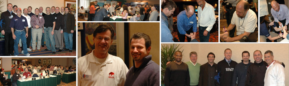 Pictures from past chiropractic continuing education seminar